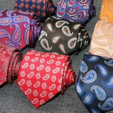 8CM Ties Men Necktie Silk paisley gravata corbatas Floral Formal Mens Neck Tie