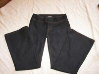 Bisou Bisou Stretch Pants Jeans - Size 10 - Low Rise Flare Leg