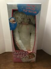 Heavenly Hug 24 inch Soft Angel Doll Pink Accents New in Box Hug Me Love Me