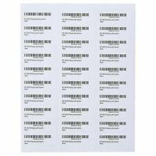 100 Sheets 3000 Labels Address Labels Amazon FBA Labels Size 5160