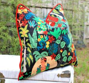 Frida Kahlo Cotton Cushion Cover 50*50CM Bed Home Decorative Throw Pillow Case