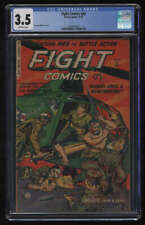 Fight Comics #83 CGC 3.5 OW Pgs 11/1952 Maurice Whitman Cover Fiction House