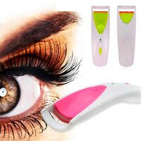Heated Long Lasting Eye Lashes Ladies Women Eyelash Curler Tool Beauty Clip