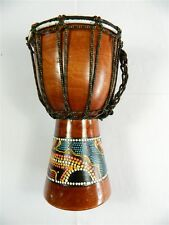 Percussion Musical Instrument - 15cm - Djembe Drum Bongo By Thai-Gifts