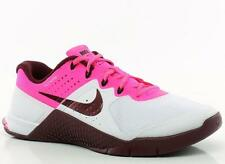 NIKE METCON 2 WOMEN'S TRAINING SHOES MSRP $130 White/Maroon/Pink/Black sz 12