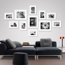 11 pcs Picture Photo Frame Set Wall White Decor Art Valentine Gift Present