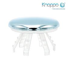 KNOPPO Waschbecken Überlauf Abdeckung - Medi Cap (für Krankenhäuser,Ärzte) chrom