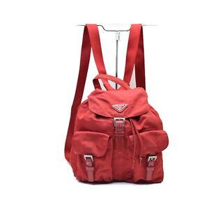Prada BackPack Bag  Reds Nylon 2400843