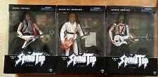 """THIS IS SPINAL TAP Full Set Of 3 12"""" - 1/6 Scale Figures VERY RARE COLLECTORS"""