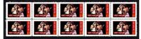 VAN HALEN ROCK LEGENDS STRIP OF 10 MINT VIGNETTE STAMPS #4