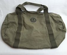 Vintage SEAL OF THE SIERRA CLUB Canvas Duffle Bag