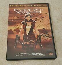 Resident Evil: Extinction (DVD, 2008) Widescreen Special Edition, Milla Jovovich
