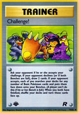1x Challenge! - 74/82 - Uncommon - 1st Edition NM-Mint Pokemon G1 - Team Rocket