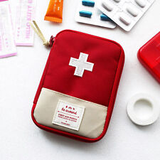 Mini Small First Aid Kit Travel Pouch Medicine Storage Bag