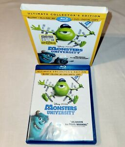 Ultimate Collector's Monsters University (4-disc 3D Blu-ray+Blu-ray+DVD+Bonus)
