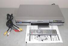 New listing Nice! Works! Panasonic #Dmr-E60 Dvd Recorder Player #Dmr-E60Pp +Remote, Manual