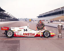KENNY BRACK 1999 INDY 500 WINNER AUTO RACING 8X10 PHOTO #2