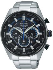 Pulsar Gents Accelerator Solar Watch - PX5019X1 NEW