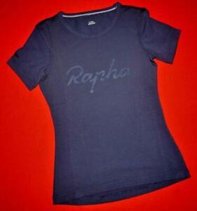 "Rapha Graphic Dark Blue Ladies ""Womens Logo T-Shirt"" Tee Top Size 2XS XXS"