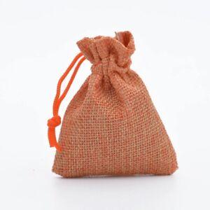 Fashion Drawstring Burlap Bags Wedding Party Christmas Gift Jewelry Pouches SA16