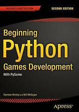Beginning Python Games Development, Second Edition: With PyGame by Will McGugan