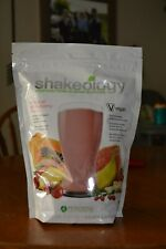 SHAKEOLOGY TROPICAL STRAWBERRY VEGAN PROTEIN MEAL REPLACEMENT 30 Serving Bag