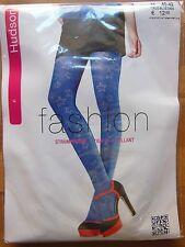 Hudson Fashion StrumpfhoseSternchen blau Gr. 40-42