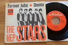 THE HEP STARS Farmer John / Donna  7'' inch single rote Ariola 18370 AT ABBA