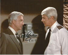 Hand Signed 8x10 photo - PETER GRAVES - MISSION IMPOSSIBLE - AIRPLANE + COA
