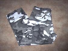 Urban Camo Pants Snow Camo Pants Military Bdu Pants Small Cargo Pants Army Bdu