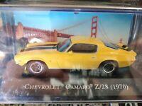 CHEVROLET CAMARO Z/28 1970 AMERICAN CARS C. #02 MIB DIE-CAST 1:43