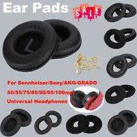 Replacement Headphones Ear Pads Sponge Cushion Cover for Sennheiser AKG 50-100mm