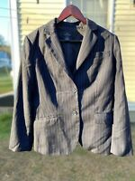 Brooks Brothers 346 Women's Suit Jacket Fully Lined Size 12 Wool/Cupro
