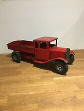 Rare Early Line Bros (triang) Tin Plate Delivery Truck