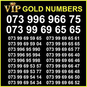 Easy Remember VIP Gold Mobile Phone Number SIM Card Business Platinum Diamond