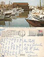 1972 CASTAGNOLAs RESTAURANT SAN FRANCISCO CALIFORNIA UNITED STATES POSTCARD