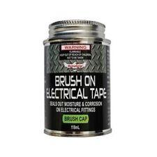Brush-On Electrical Tape Black 118mL Appearance: Black Liquid
