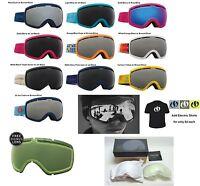 NEW Electric EG2.5 mens spherical ski snowboard goggles + lens 2016 Msrp$160