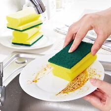 5Pcs Bowl Dish Washing Sponge Eraser Scrubber Pads Home Kitchen Cleaning Tool