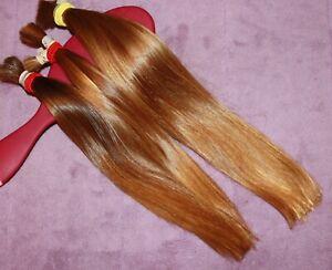 HUMAN HAIR HAIRCUT 11.5-13 IN 3.2oz Tot CHILDS WARM BLONDE BUNDLE PONYTAILS C35