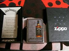 JACK DANIELS ZIPPO LIGHTER SIGNED BOTTLE