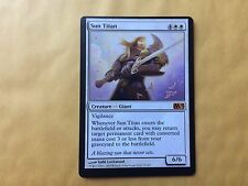 Miscut Sun Titan M11 Misprint MTG Magic Card