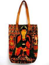 BT 04 ASIAN SHOULDER BAG SAVE WORLD BUDDHA HANDBAG GOD TEMPLE MEDITATION INDIA