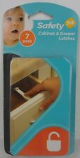 Safety 1st Cabinet & Drawer Latches 7 Pack - 48444 New, Sealed