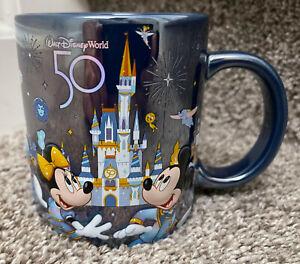 Walt Disney World 50th Anniversary Character Mug NEW