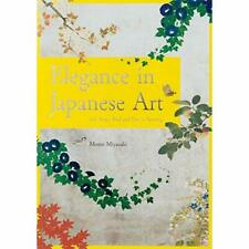 Elegance in Japanese Art: EDO Rinpa Bird and Flower Pai - Paperback NEW Miyazaki