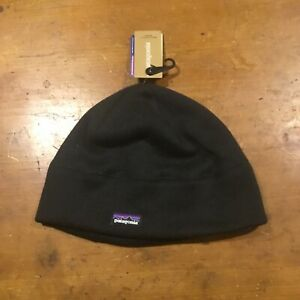 Patagonia Unisex Better Sweater Fleece Beanie Size L/XL Black MSRP $39