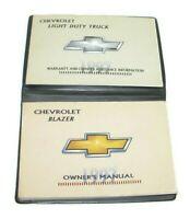 1997 Chevrolet Blazer Factory Original Owners Manual Portfolio #13