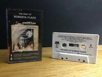 The Best Of Roberta Flack Cassette Tape CS 1971 Atlantic