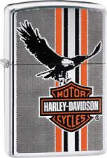 Zippo Lighter Harley Davidson Eagle Windless USA Made 04434
